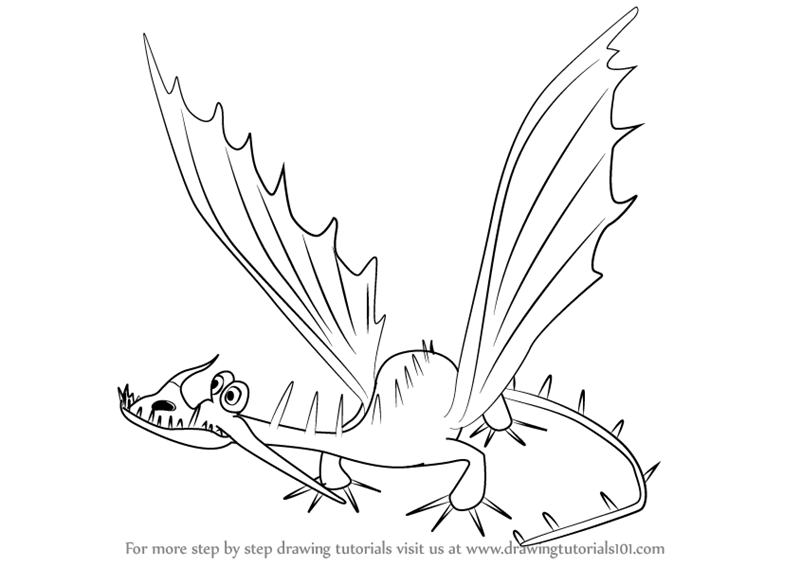 Learn How to Draw Changewing from How to Train Your Dragon How to