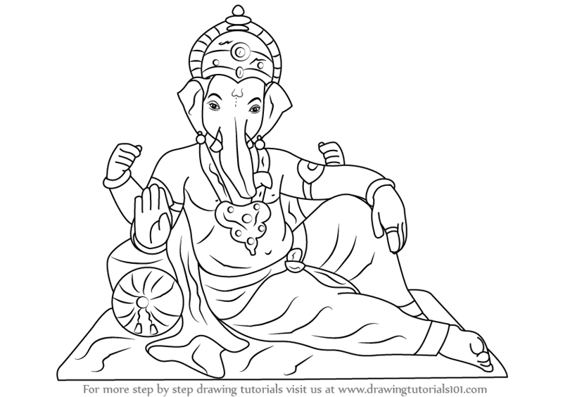 Ganesh Images To Draw