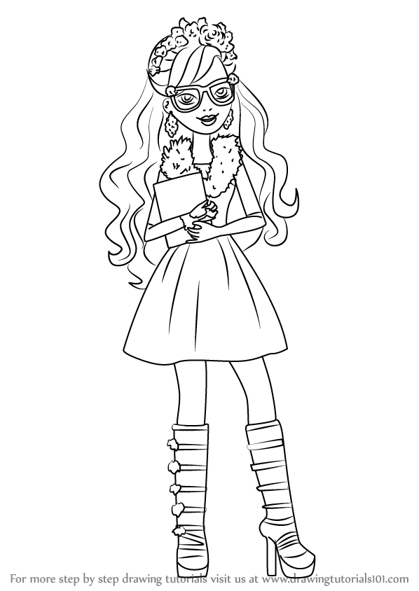 Learn How to Draw Rosabella Beauty from Ever After High Ever