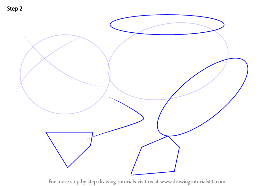 Step By Step How To Draw A Glass Frog