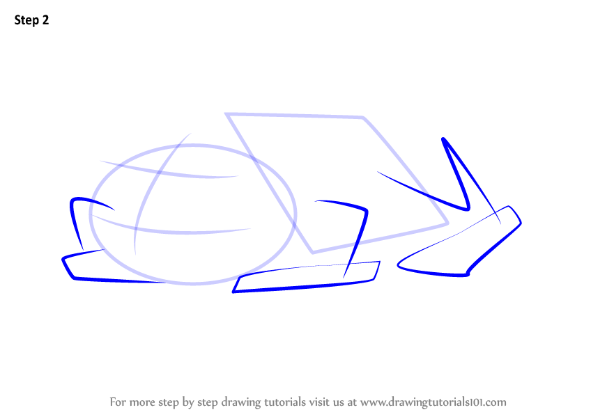 Learn How To Draw A Green Frog Sitting Amphibians Step