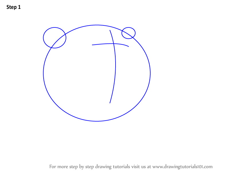 how to draw a grizzly bear for kids