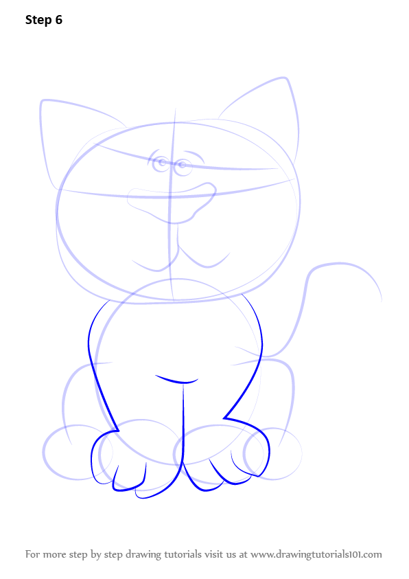 how to draw felix the cat step by step