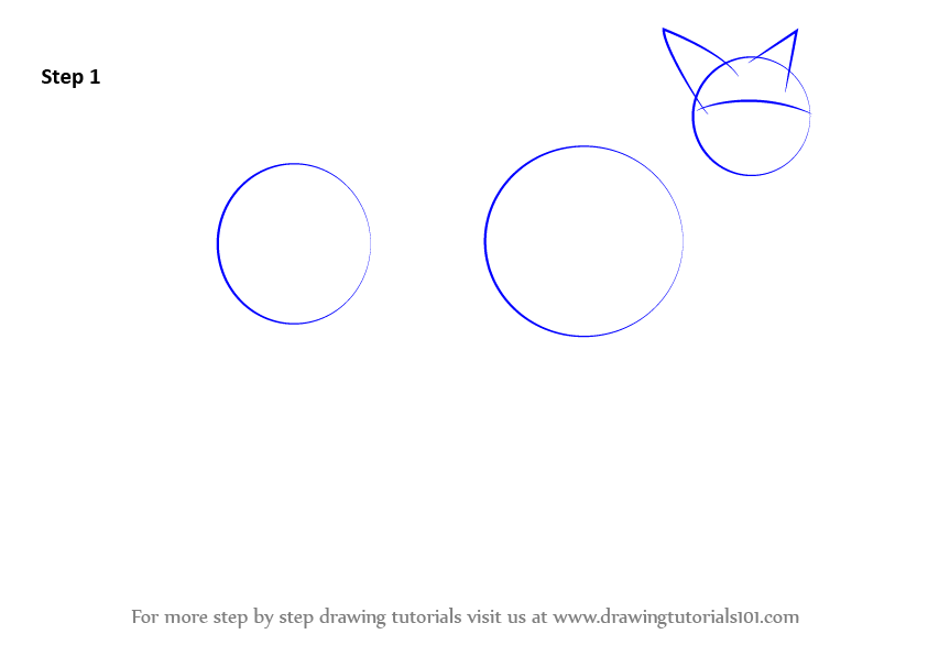 Learn how to draw a dingo dogs step by step drawing for How to make doodle art