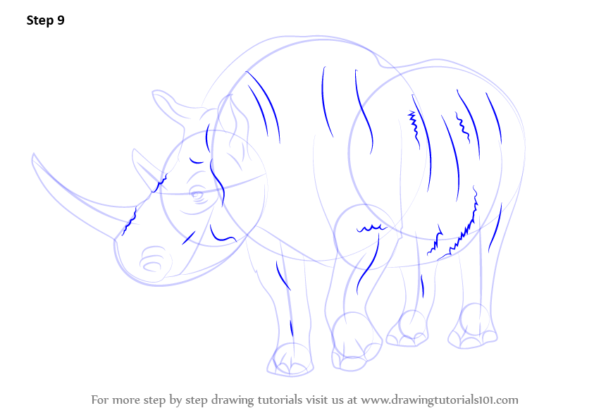 Learn How to Draw a Woolly Rhinoceros
