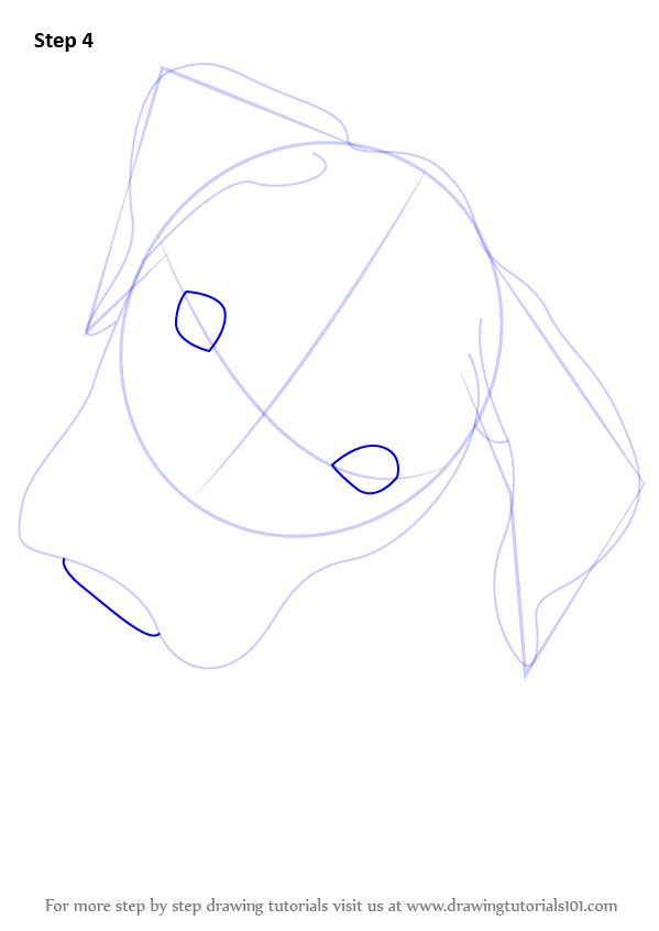 draw outlines fir eyes
