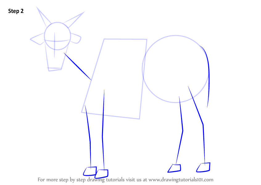 how to draw a farm step by step