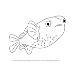 How to Draw a Porcupinefish