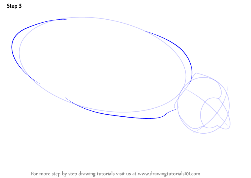 how to draw a vw bug step by step