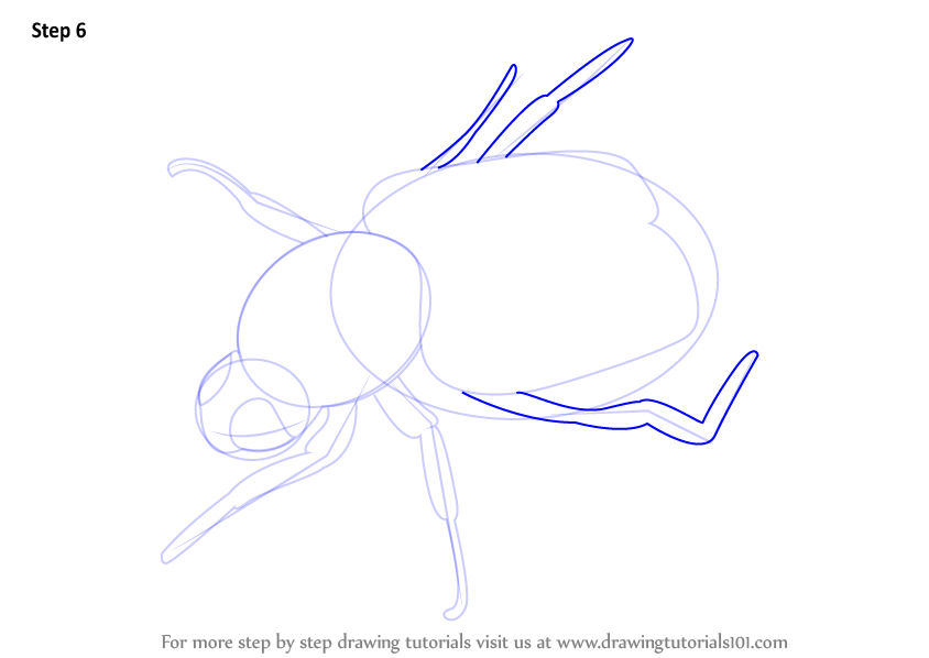 how to draw bees tutorial