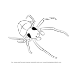How to Draw a Bolas Spider