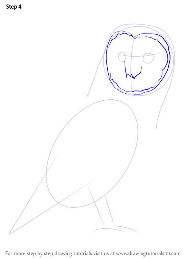 Learn how to draw an owl owls step by step drawing for Steps to draw an owl