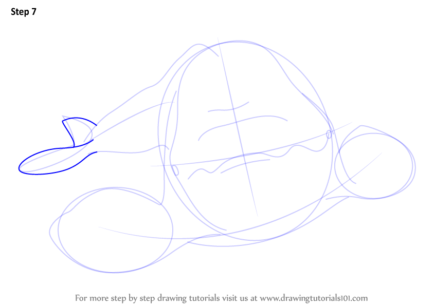 how to draw a whale tail