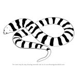 How to Draw a Tiger Snake