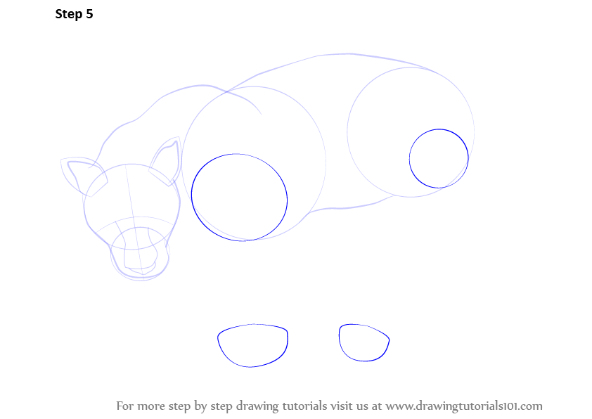 how to draw a panther
