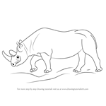 How to Draw a Black Rhinoceros