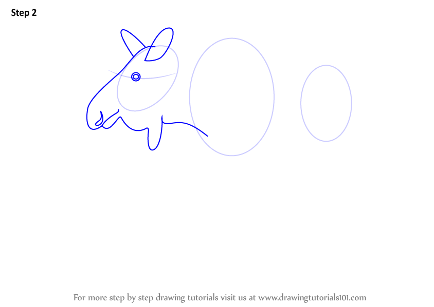 Learn how to draw a moose wild animals step by step for How to draw a moos