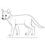 How to Draw a Swift Fox