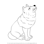 How to Draw a Wolf for Kids