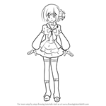 How to Draw Nagisa Motomiya from AKB0048