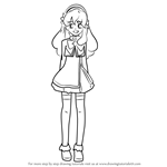 How to Draw Orine Aida from AKB0048