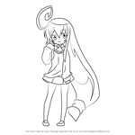 How to Draw Tsumiki Miniwa from Acchi Kocchi