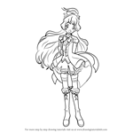 How to Draw Hime Shiratori from Aikatsu Stars!