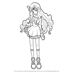 How to Draw Lilie Shirogane from Aikatsu Stars!