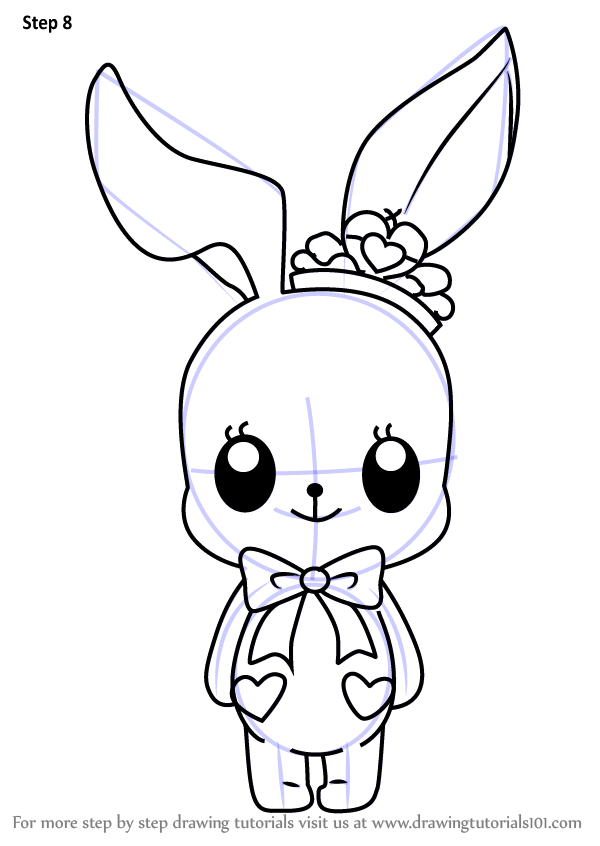 Learn How to Draw Little Bunny from Aikatsu Stars ...