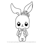 How to Draw Little Bunny from Aikatsu Stars!