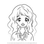 How to Draw Sumiko from Aikatsu Stars!