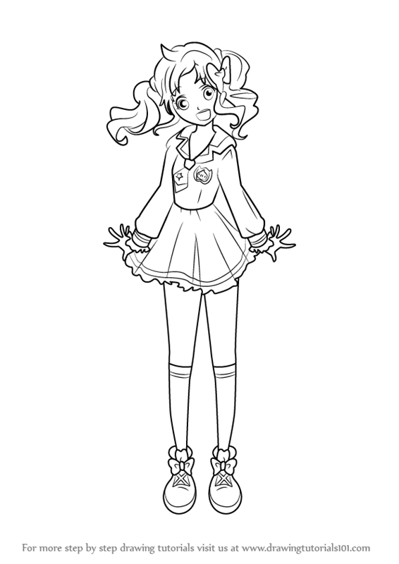 Learn How to Draw Yume Nijino from Aikatsu Stars Aikatsu
