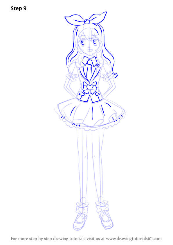 Learn How To Draw Ichigo Hoshimiya From Aikatsu Aikatsu