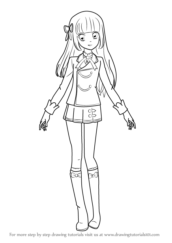 Learn How to Draw Sumire Hikami