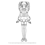 How to Draw Yurika Toudou from Aikatsu!