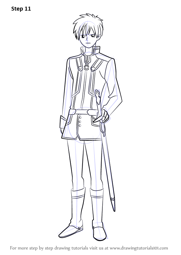 Learn How To Draw Zen Wistaria From Akagami No