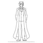 How to Draw Dr. Stylish from Akame Ga Kill