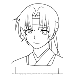 How to Draw Min-soo from Akatsuki No Yona