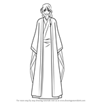 How to Draw Soo-won from Akatsuki No Yona