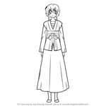 How to Draw Yona from Akatsuki No Yona