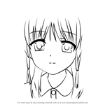 How to Draw Hatsune Otonashi from Angel Beats!
