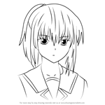 How to Draw Hisako from Angel Beats!