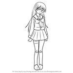 How to Draw Miyuki Irie from Angel Beats!