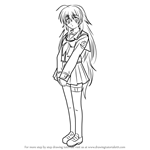 How to Draw Shiori Sekine from Angel Beats!