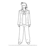 How to Draw TK full body from Angel Beats!