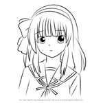 How to Draw Yuri Nakamura from Angel Beats!