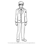 How to Draw Yuzuru Otonashi from Angel Beats!
