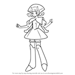 How to Draw Blanche from Angelic Layer