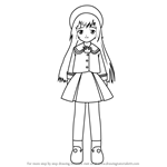 How to Draw Hatoko Kobayashi from Angelic Layer