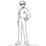 How to Draw Kotaro Kobayashi from Angelic Layer